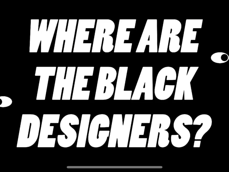 Where Are the Black Graphic Designers?
